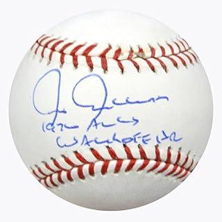 Chris Chambliss Signed Rawlings Official Major League Baseball New York Yankees 1976 ALCS Walk Off HR - PSA/DNA Authentication - Autographed MLB Baseballs