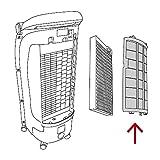 TROTEC PAE 25 Aircooler Mobiles Klimagerät Klimaanlage 3-in-1 Luftkühler Ventilator Lufterfrischer (4 Gebläsestufen, Nacht-Modus, Timer, Naturwind-Modus, uvm.) - 4