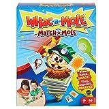 Mattel Games Juego de cartas Match-a-mole de Whac-a-mole, juego de mesa para niños (GVD46)