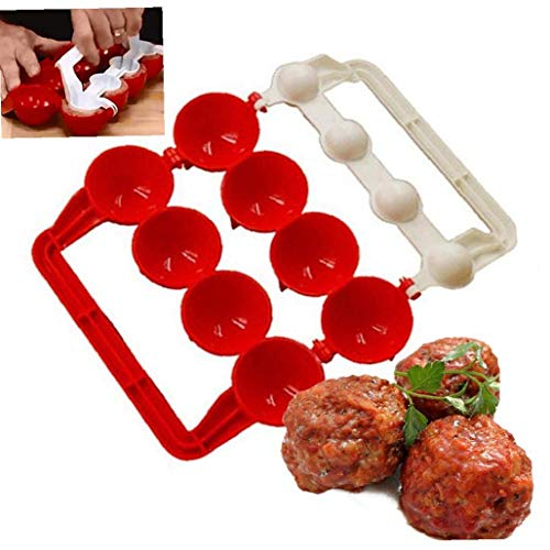 Casecover 1pc Plastic Meatballs Maker Fish Balls Molds Stuffed Meat Ball Making Tool Kitchen Gadget