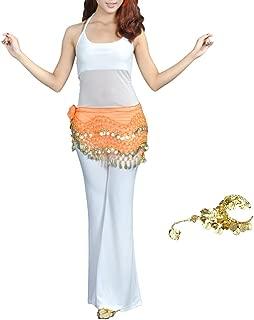 Bellylady Gold Coins Belly Dance Hip Scarf, Wholesale Dance Belt & Gypsy Bracelet