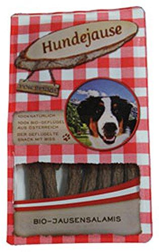 Hundejause 10er-VE Bio JausenSalamis Hunde-Leckerli 150g