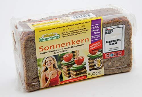 Mestemacher Sonnenkern Roggenvollkornbrot, 9er Pack (9 x 500g)