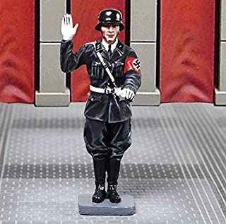 Collector's Showcase World War 2 German CS00919 LAH Blood Flag Oath Taker 1:30 Scale Pewter