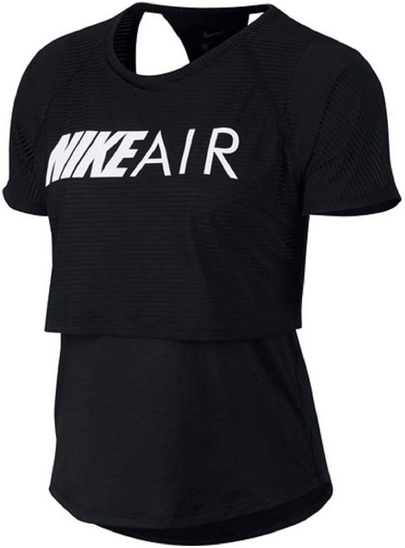 Nike Damen W Nk Air Top Ss Gx T-Shirt