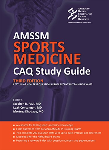 AMSSM Sports Medicine CAQ Study Guide (Third Edition)