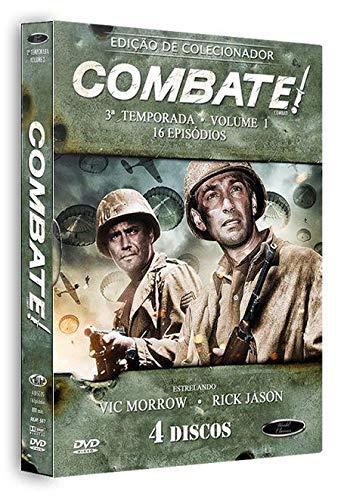Combate 3ª Temporada Volume 1 Digibook 4 Discos