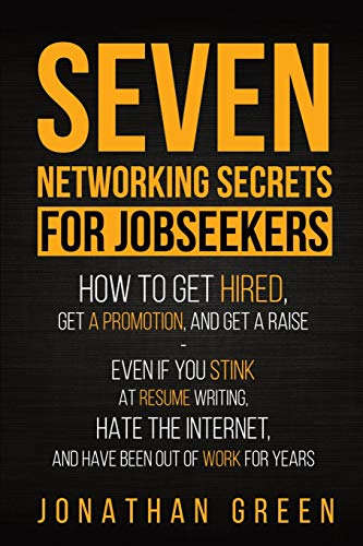 Seven Networking Secrets for Jobseekers Front Cover