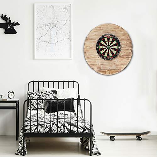Runstyle Deluxe Holz Design Dart Wandschutz - 2