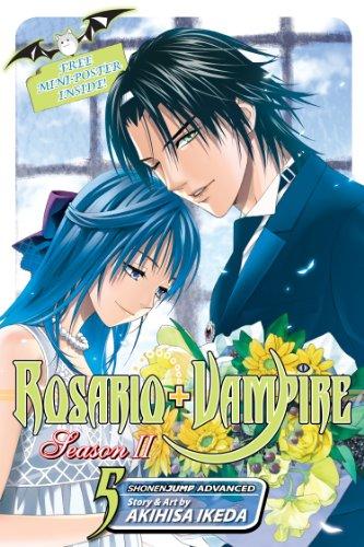 Rosario+Vampire: Season II, Vol. 5: Test Five: Siren Song