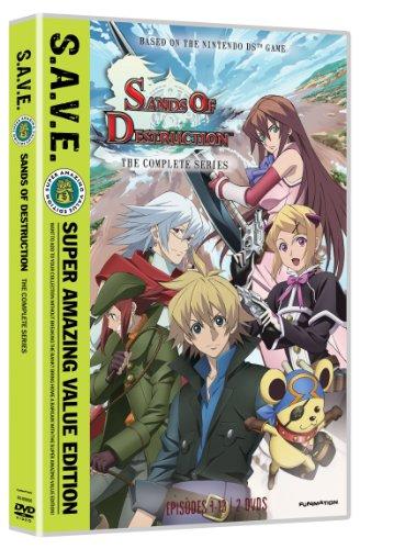 Sands of Destruction: The Complete Series S.A.V.E. (ワールド・デストラクション 世界撲滅の六人 DVD-BOX 北米版)[Import]