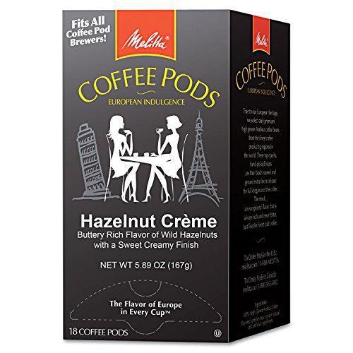 Melitta Kaffeekapseln, Haselnusscreme (Haselnuss), 18 Kapseln/Box