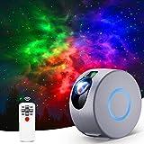Sternenhimmel Projektor, LED Galaxy Light Projector mit Fernbedienung, 16 Modi Nachtlicht Sterne Projektor Lamp für Baby, Erwachsene, Schlafzimmer, Heimkino, Raumdekoration, Party, Nachtlicht Ambiente