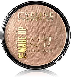 EVELINE COSMETICS Make Up Art. Make-Up Powder No 37 Warm, Beige, 3 gm