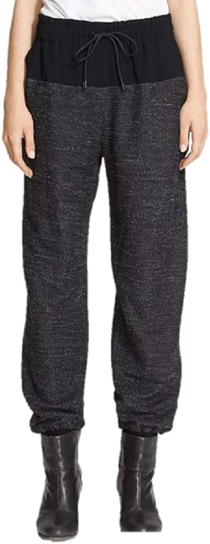 Rag & Bone Women's Owen Contrastpaneled Melangeknit Track Pants