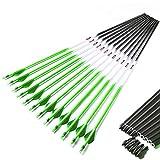 Linkboy Archery Spine 300 340 400 500 600 Carbon Arrows Shaft 2