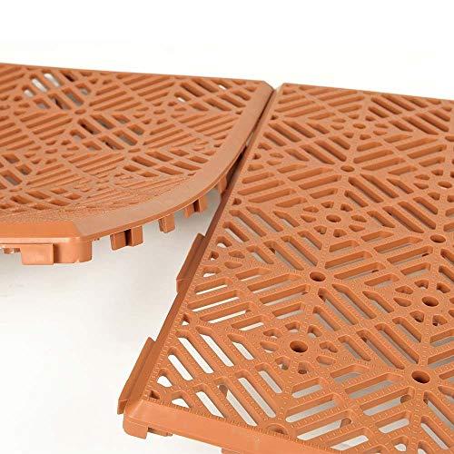 Caillebotis Plastiques - Vendus par 5 Brique 29,5 cm