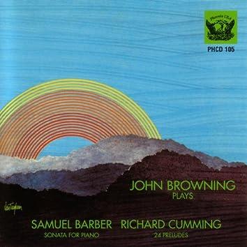 Barber - Piano Sonata / Cumming - 24 Preludes