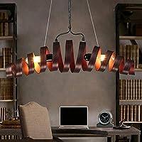 CHUNSHENN ヴィンテージ風 レトロ産業スタイルのアイアンアートクラフトツェッペリンロフト/ショールーム/カフェ/ 5-10平方メートルグッドライフのためのバーの装飾クリエイティブスパイラル状のシーリングライト