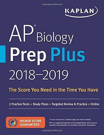 Amazon com: AP Biology Prep Plus 2018-2019: 2 Practice Tests