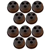 10 Pack FUEL / GAS TANK GROMMET 3 Hole V137000030, 13211546730 for Echo Trimmer /#B4G341TG 32W4-15RTH728405