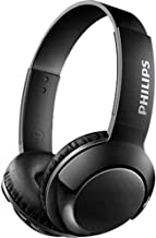 Philips BASS+ SHB3075 Wireless Headphones, up to 12 Hours of Playtime - Matte Black