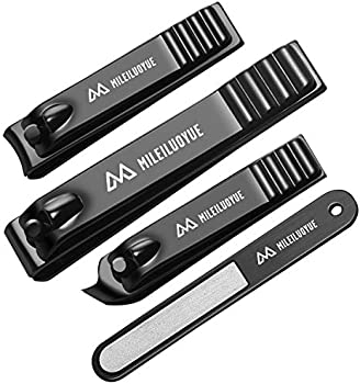 Mileiluoyue 4-Piece Nail Clippers Set