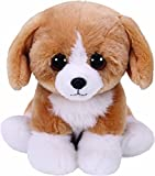 TY 42269 braun/weiß Franklin, Hund 15cm, Beanie Babies