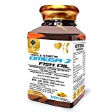 Mountainor Omega - 3 Fish Oil 1000mg Triple Strength Capsules 500mg EPA: 300Mg