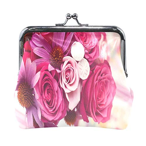 Pattern Kiss-Lock Flower References On Pinterest Cute Coin Purse Wallet Portable Clutch Bag