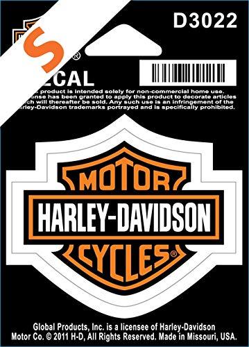 Harley-Davidson sticker B & S klein