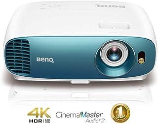 BenQ TK800M True 4K HDR Home Theater Projector, DLP, 3000 Lumens, HDMI, 3D, Auto Keystone, 8.3M Pixels, Rec.709 HDTV Stand...