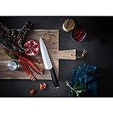 WMF Kineo Messerblock mit Messerset 6-teilig, 4 Messer geschmiedet, Wetzstahl, Bambus-Block, Performance Cut, Spezialklingenstahl, Silber - 16