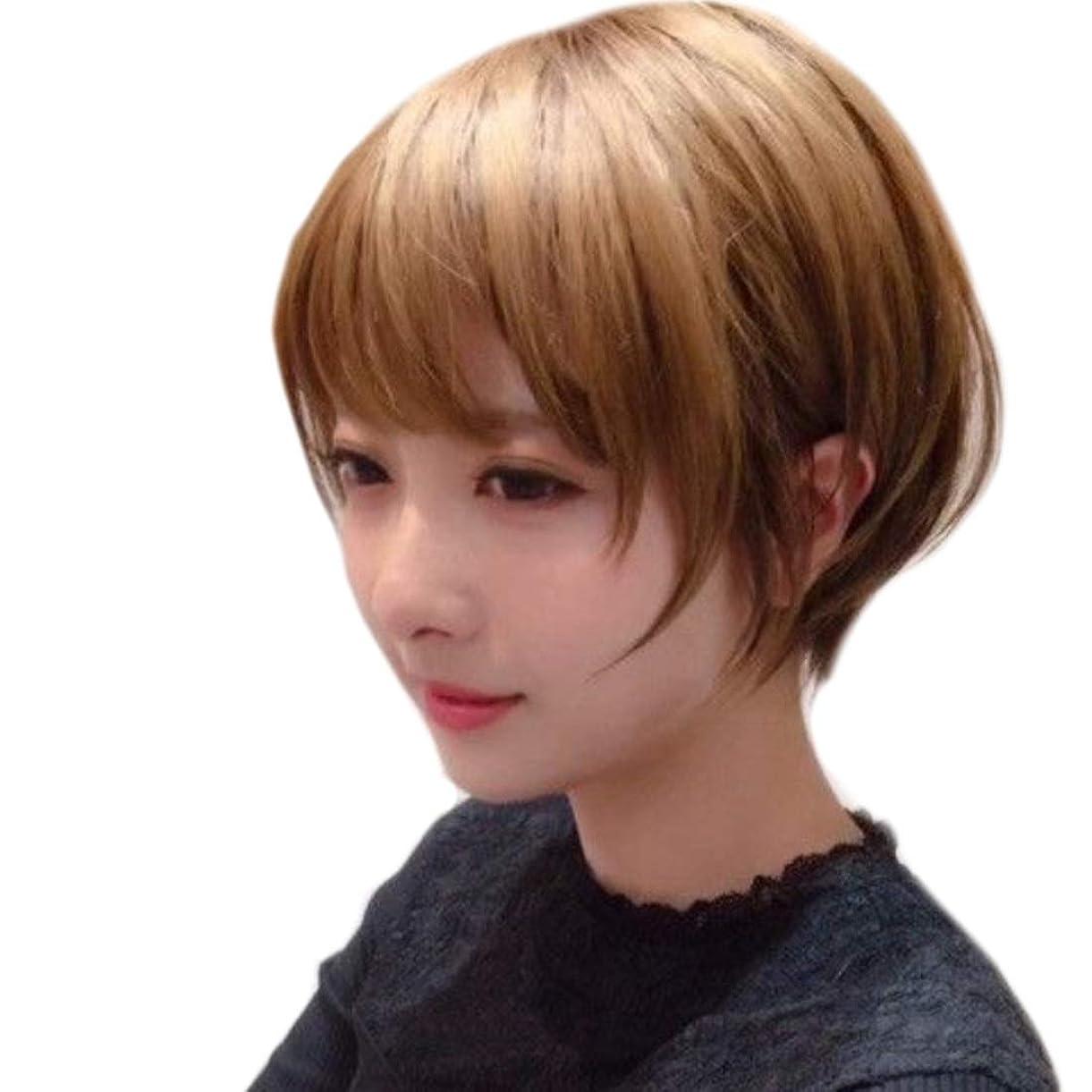ペストリー定義する広がりSummerys 短いかつらふわふわボブ変態ストレートヘアかつら合成耐熱女性ヘアスタイルカスタム