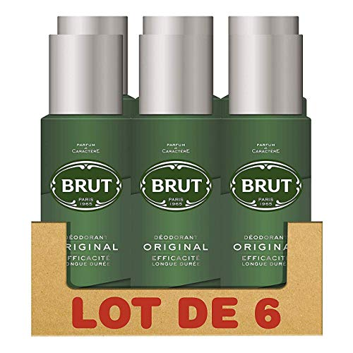 Brut Original Déodorant Homme Spray Anti-Traces et...