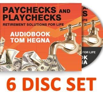By Tom Hegna Paychecks and Playchecks Audio Book 6 Disc Set (Paychecks and Playchecks) (3rd Third Edition) [Audio CD]