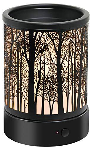 Hituiter Electric Wax Melt Warmer with Timer Fragrance Warmer for Scented Wax Melts Classic Timing3/6/9 H Night Light Design Home Accessories