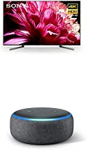 $1198 » Sony X950G 55 Inch TV: 4K Ultra HD Smart LED TV with HDR and Alexa Compatibility - 2019 Modeland Echo Dot (3rd Gen) - Smart Speaker with Alexa - Charcoal