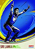 Cricket World Cup – Sri Lanka – Wall Poster Print - A4