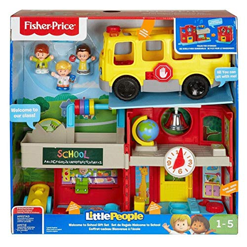 Fisher-Price Little People Welcome to School Gift Set