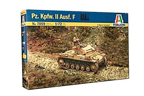 Italeri 7059S Pz. Kpfw. II Ausf. F - Vehículo blindado