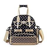Universal-Wickeltasche, für Damen und Herren, multifunktional, mit Schultergurt, Schultergurt, umweltfreundlich, für Schwangere und Frauen, Dunkelblau, 20 Liter