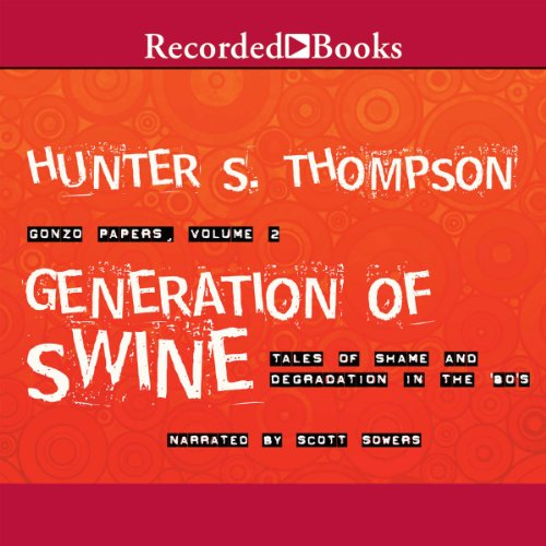 Generation of Swine audiobook cover art