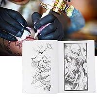ポータブルリッチパターンシェーダータトゥーブック、高品質のタトゥーブック、タトゥーアーティスト画家のタトゥーストアビューティーサロン