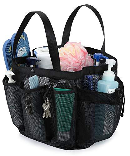 Moyad Mesh Kulturbeutel transparente Organizer Schnell Trockend Kosmetiktasche durchsichtige Kulturtasche mit Reißverschluss für Reise Gym Bad Schwimmen etc. 28x 28 x 24 cm