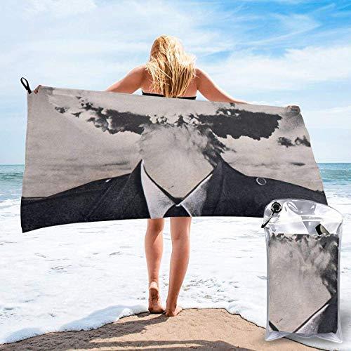 YYRR Large Travel Mikrofaser-Badetücher - Super Absorbent Lightweight Towel von Swimmers - Das Creepy Boom World Quick Dry Strandtuch für Camping, Wandern und den Heimgebrauch
