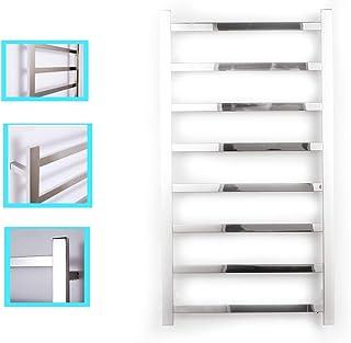 HWTZ Calentador De Toallas, Radiador Toallero Electrico Bajo Pared Temperatura Constante Apto para Baño Cocina Medidas 1100 x 600 x 120 mm 85w Plata