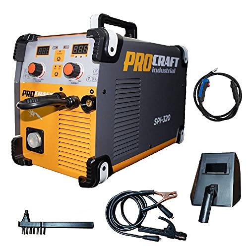 Soldadura Del Inversor, Procraft Spi 320, 320Ah, Mma/Mig, Cables Mig Set Y Mangueras