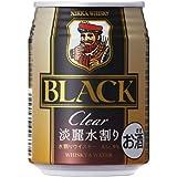 ブラックニッカ クリアブレンド&ウォーター 缶250ml