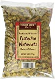 Trader Joe's Dry Roasted and Unsalted Pistachio Nutmeats Halves and Pieces, 8 oz
